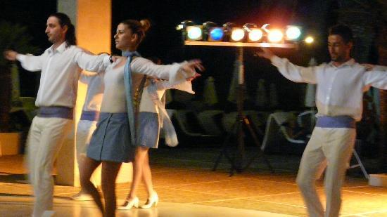 Sheraton Rhodes Resort: soirée spectacle