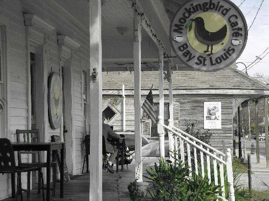 pass this one by picture of mockingbird cafe bay saint louis tripadvisor. Black Bedroom Furniture Sets. Home Design Ideas