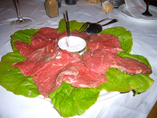 Gambrinus: Steak for 2 persons!