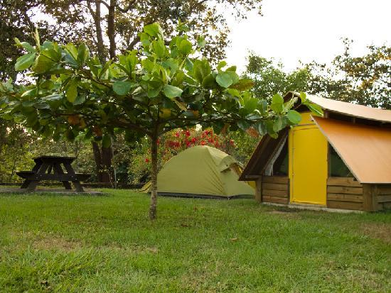 El Sol Verde Lodge & Campground: our tent on the campsite next to tent house