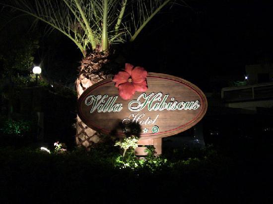 Hotel Villa Hibiscus: Esterni