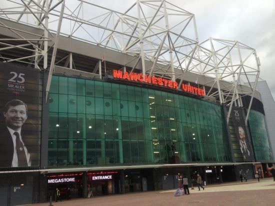 Манчестер, UK: old trafford