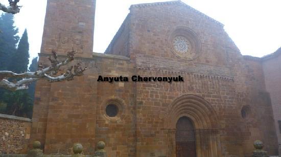 Monasterio de Veruela: La iglesia.