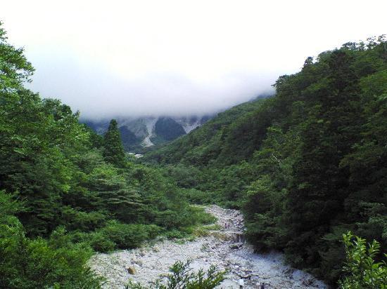 Saino Kawara : 賽の河原 上が大山