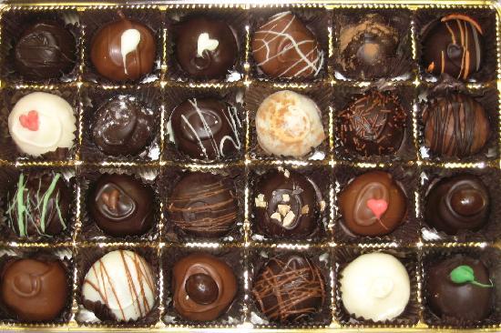 Pieces of Heaven Fine Chocolate: 24 Piece Truffle Box