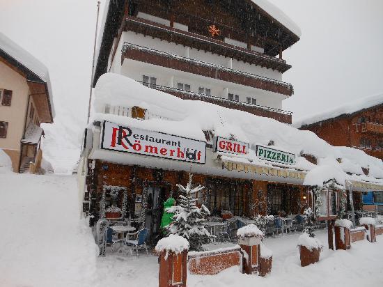 Hotel Roemerhof : Hotel Frontansicht