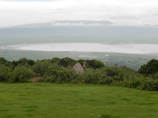 andBeyond Ngorongoro Crater Lodge : vue