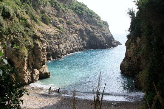 Massa Lubrense, Italien: Crapolla Cove