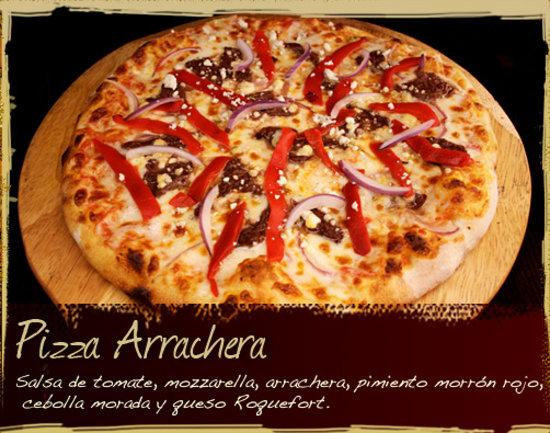 Restaurante Hornero : Pizza de Arrachera