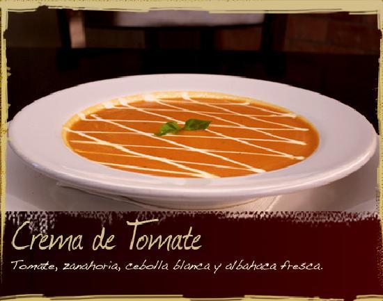 Restaurante Hornero : Crema de Tomate
