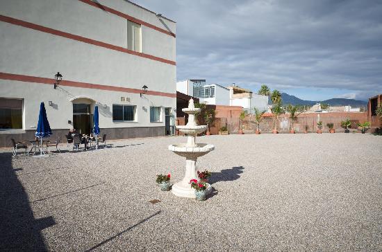 Restaurante La Vega: terraza