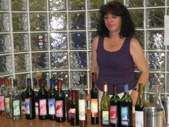 Murielle Winery : The wine they produce (not my picture)