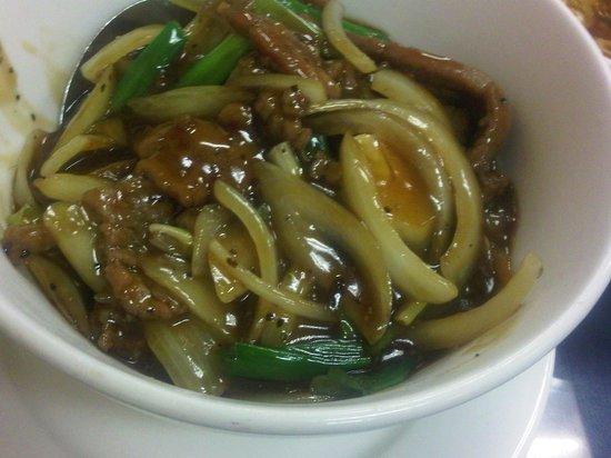 TAI WU Restaurant: Black Pepper Beef