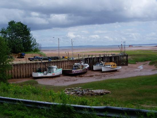 Eastwind Cycle: Low tide on the Bay of Fundy
