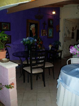 El Jardin Bed and Breakfast: terraza 2