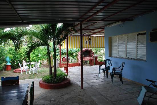 Guanabo, Cuba: Terrasse 2
