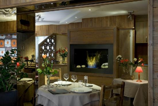 Valloire, France: restaurant