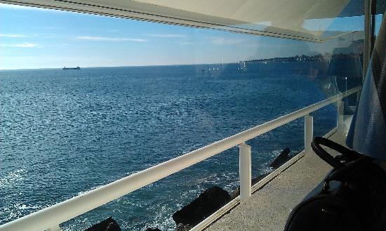 Restaurante Choupana Gordinni: Ocean view