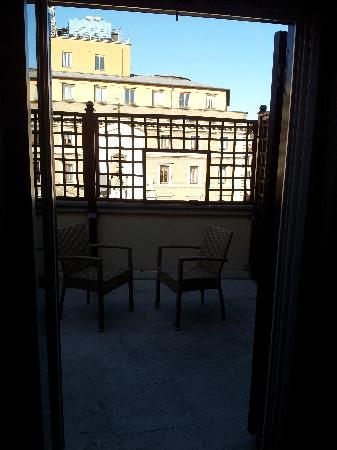 Hotel delle Nazioni: Room 508 - balcony