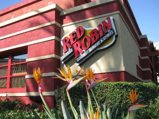 Red Robin Picture Of Red Robin Gourmet Burgers Garden Grove Tripadvisor