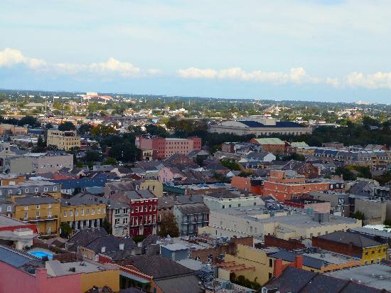 Hotel Monteleone: Monteleone Rooftop View