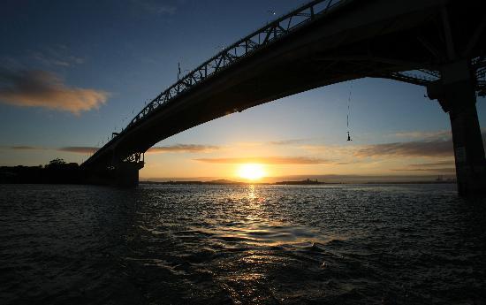 AJ Hackett Bungy New Zealand: Auckland Bridge Bungy