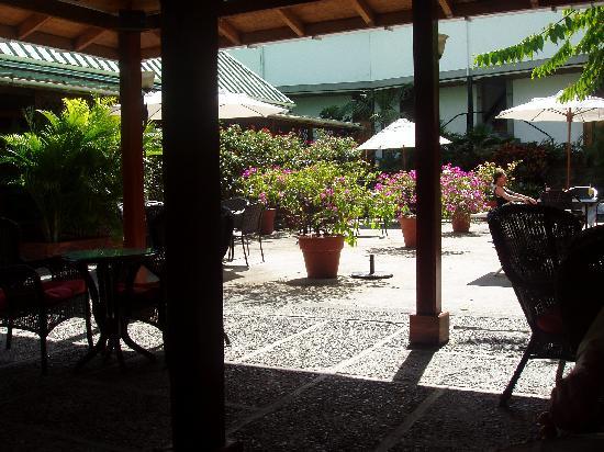 Balas Bar: Courtard view