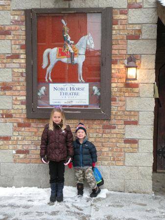 Noble Horse Theater: outside theater