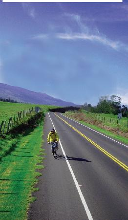 Paia, Hawái: Maui's best bike tour. Bike down Haleakala at your own pace through scenic upcountry maui.