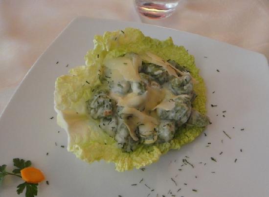 Enoteca Ristorante Gallo Nero: my husband's lunch
