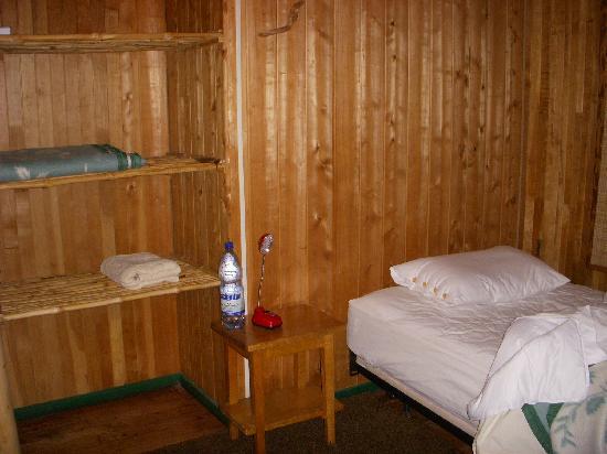 Posada Queulat: Cabin detail