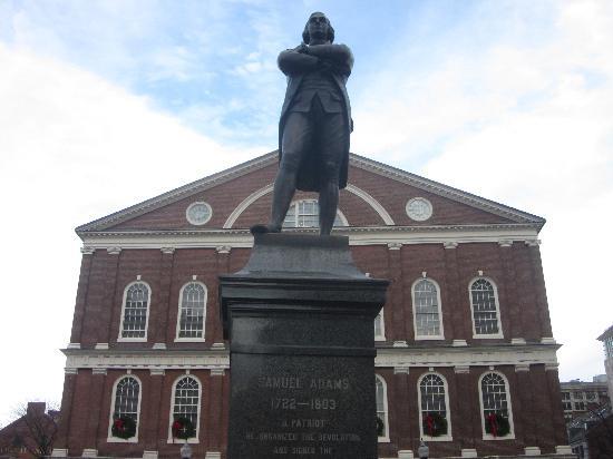 Boston Urban Adventures : Samuel Adams