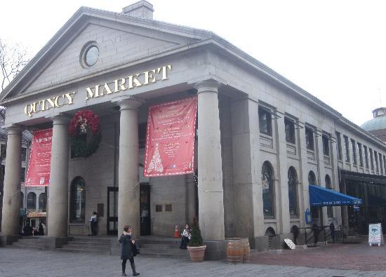 Boston Urban Adventures : Quincy Market
