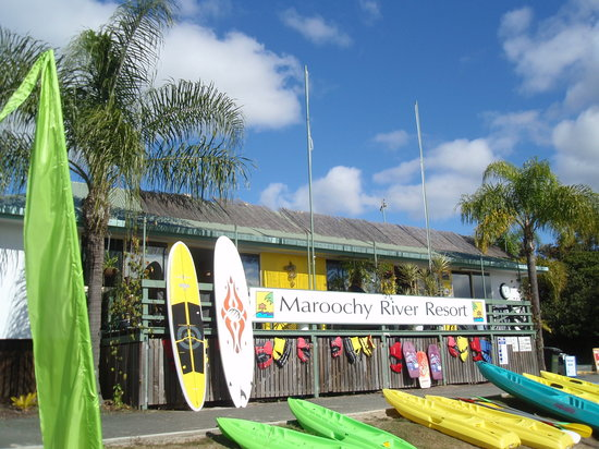 Maroochy River Resort & Bungalows: Maroochy River Resort offers equipment hire - perfect!