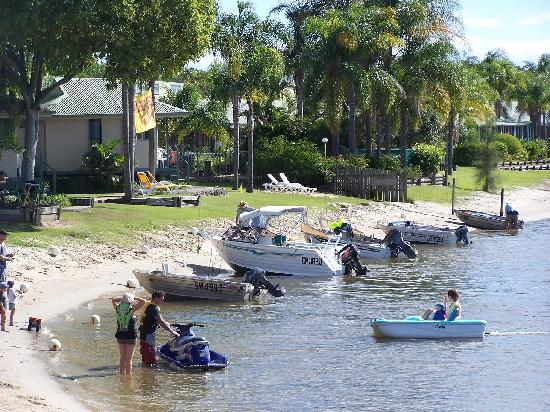 Maroochy River Resort & Bungalows: Maroochy River Bungalows waterfront