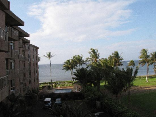 Nani Kai Hale : View from lanai, room 404