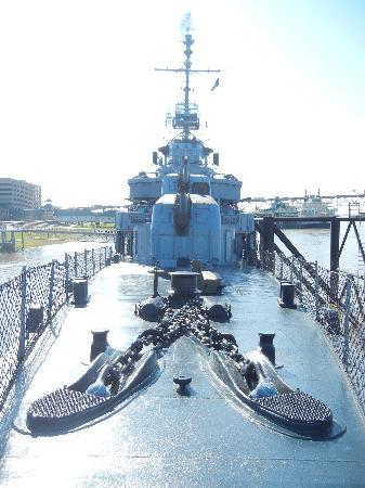 USS Kidd: All aboard!