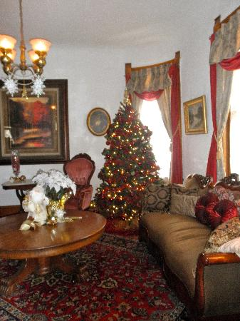 Lennox House Bed and Breakfast: Living area.