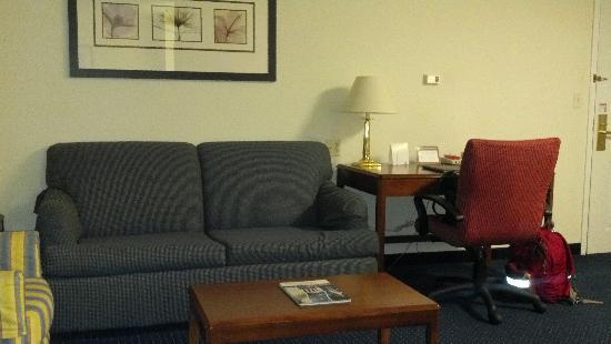 Residence Inn Hartford Manchester : Living Room