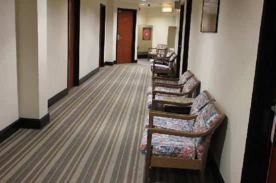 Hotel Rosa Passadena: Walkway