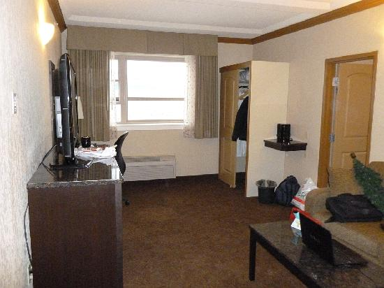 Best Western Plus Kamloops Hotel: Sitting Room