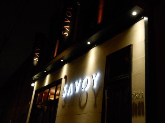 Savoy Restaurant: front