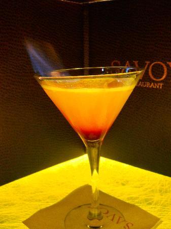 Savoy Restaurant: The Savoy ( signature drink)