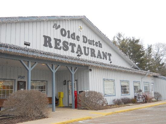 The Olde Dutch Restaurant & Banquet Haus: out front