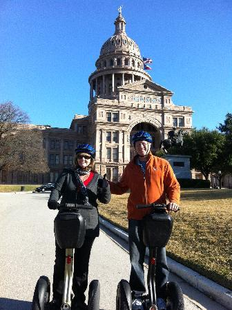 Segway Nation: Segwaying through downtown Austin