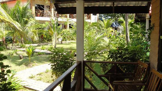Noble House Beach Resort : View from Cottage