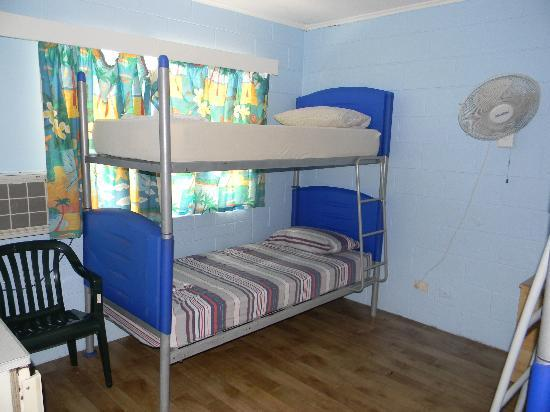 Reef Backpackers: Dorm room