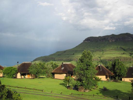 Thendele Hutted camp: Lower Camp