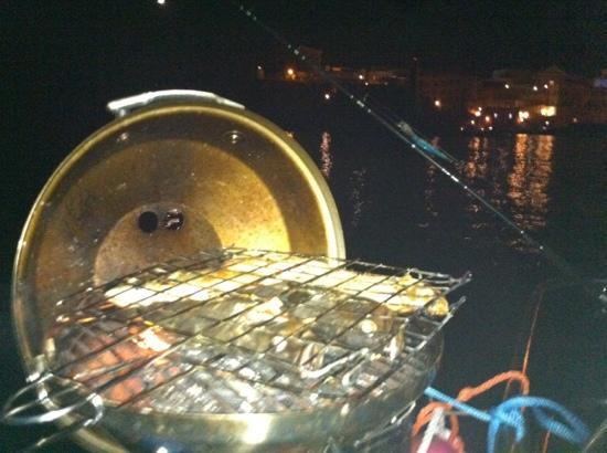 Mediterranea Charter Sud: Ventotene di notte con grigliata di pesce