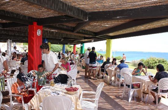 Marmorata Village : ristorante in spiaggia